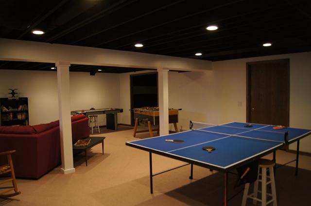 Basement Family & Game Room