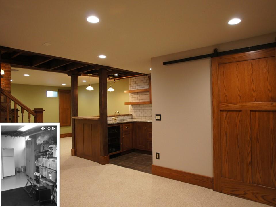 Eclectic Basement Remodel