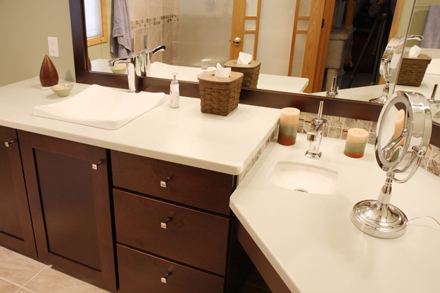 Contemporary Bathroom Remodel in Madison, WI