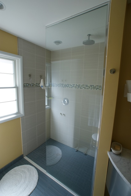 Retro Bathroom Remodel in Madison, WI