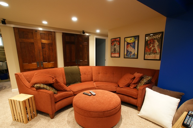 Award-Winning Basement