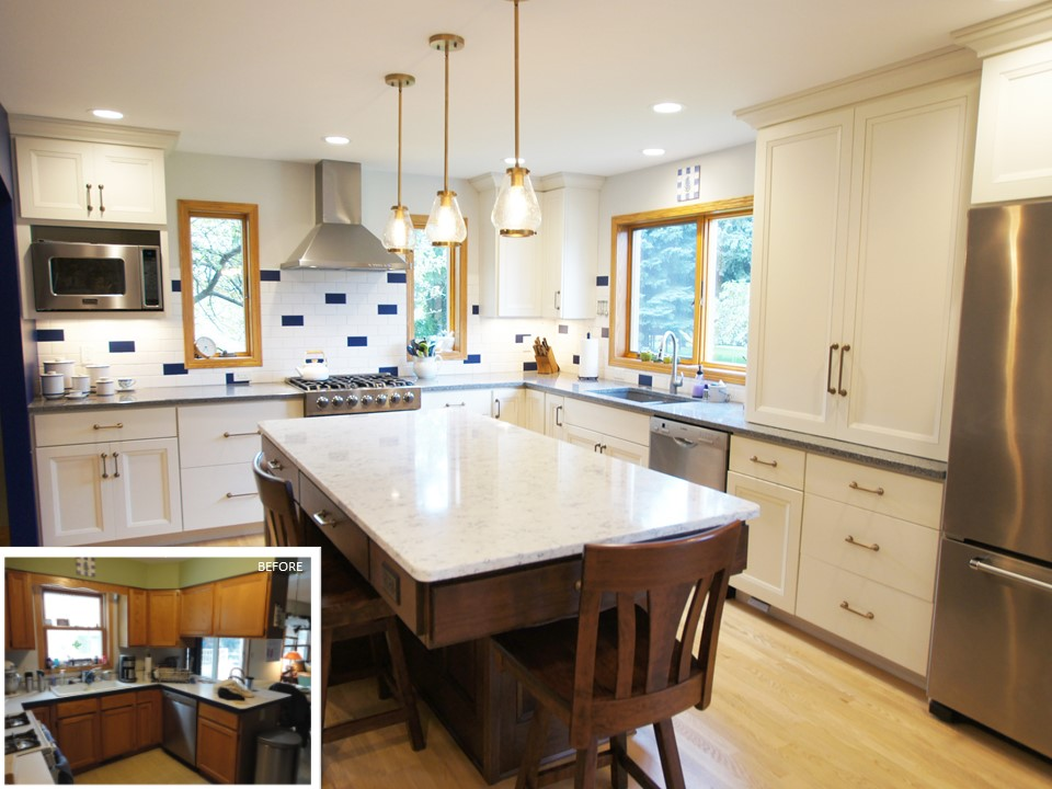 Trendy Transitional Kitchen