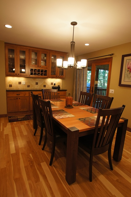 Transitional Kitchen & Dining Remodel