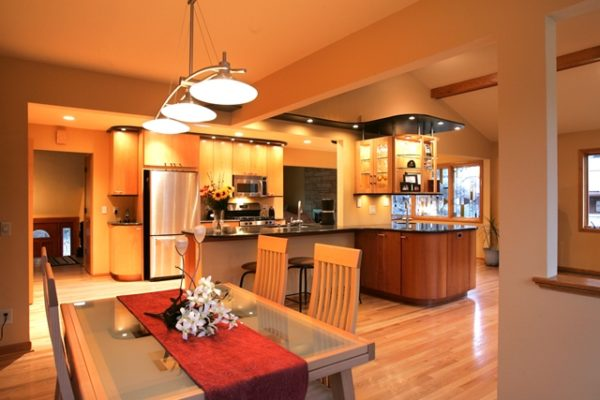 Contemporary kitchen remodel