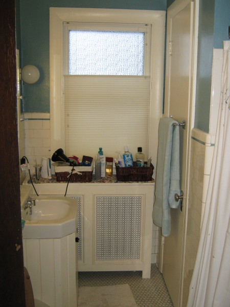 Small bathroom before