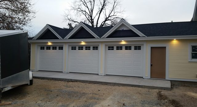 Garage Addition- Almost finished!