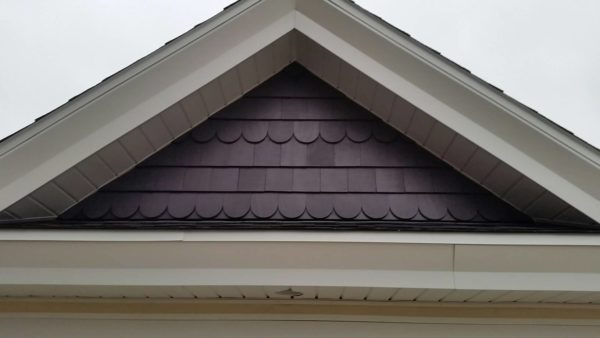 Garage Addition- Gable Detail