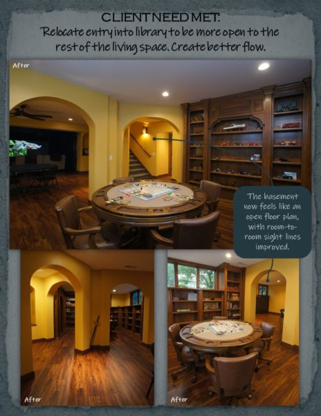 Basement Remodel library