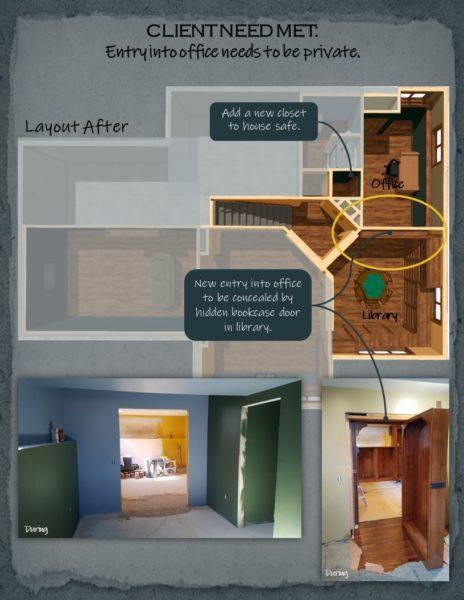 Basement Remodel floor plan