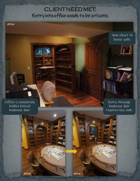 Basement Remodel office
