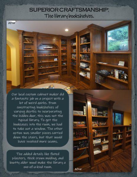 Basement Remodel library