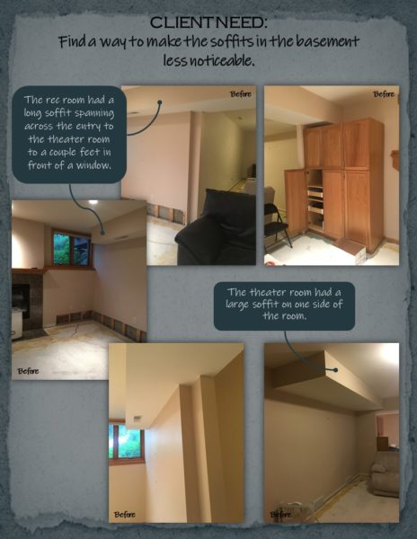 Basement Remodel client need