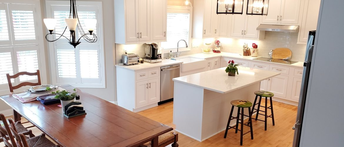 White kitchen remodel in Middleton, WI